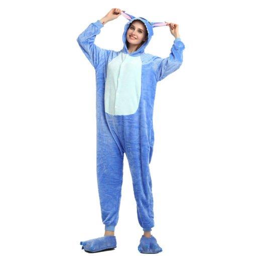 Adult Stitch Onesie Kigurumi Character Onesie Costume Pajama