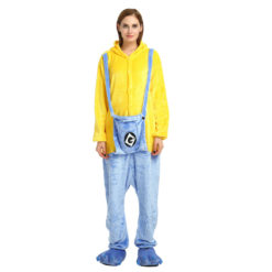 Adult minion onesie pajamas Animal Kigurumi Onesies