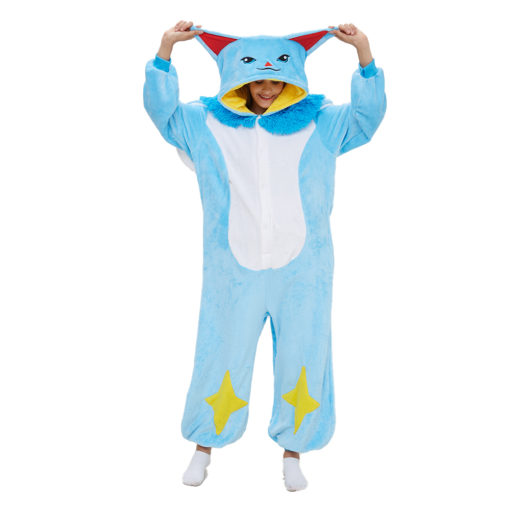 Blue Cat Onesie