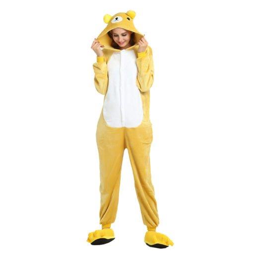 Cute Bear Onesie kigurumi Adult Character Onesie Costume Pajama
