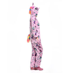 Pink Unicorn Kigurumi Onesie Pajamas Animal Costumes for Women Men
