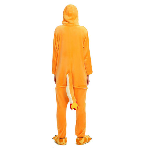 Pokemon Charmander Onesie Women & Men Kigurumi Pajama Pokemon Carnival Costumes