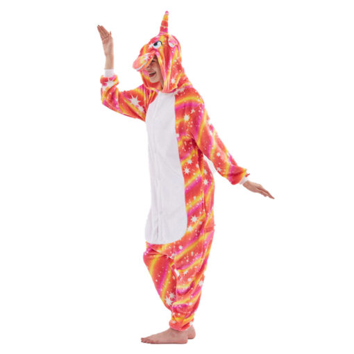Unicorn Costume Onesie Pajamas Unicorn Kigurumi Onesie for Women & Men