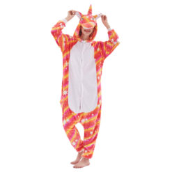 Unicorn Costume Onesie Pajamas Unicorn Kigurumi Onesie for Women & Men