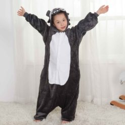 animal wolf onesie for kids