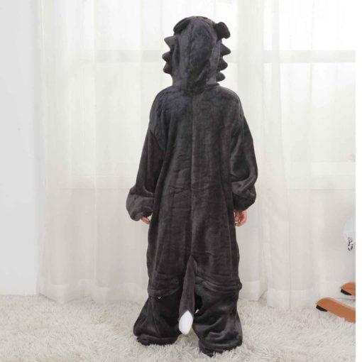 animal wolf onesie for kids