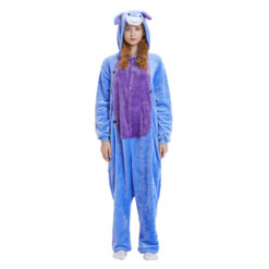 Winnie the Pooh Onesie Eeyore Donkey for Adult Animal Kigurumi Pajama Party Costumes