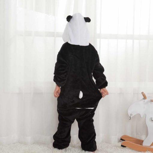 girls panda onesie