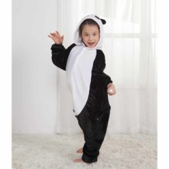 girls panda onesie
