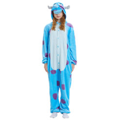 Monsters Inc Sully Costume Onesie Kigurumi For Women Men Animal Pajamas Allonesie
