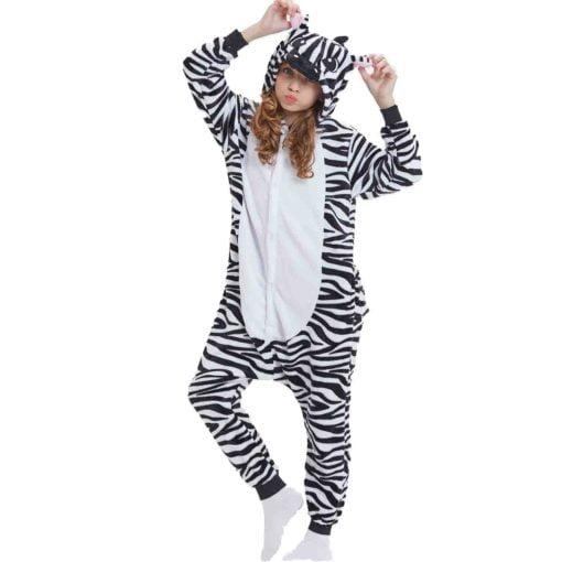 zebra onesie