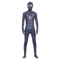black spiderman costume