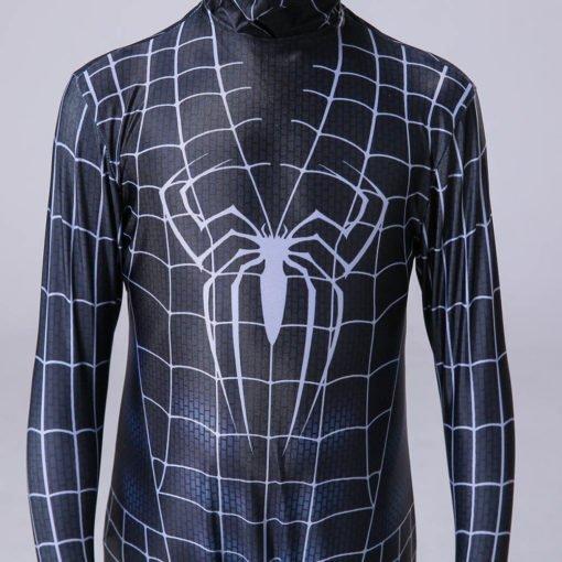 black suit spiderman