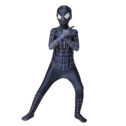 black suit spiderman
