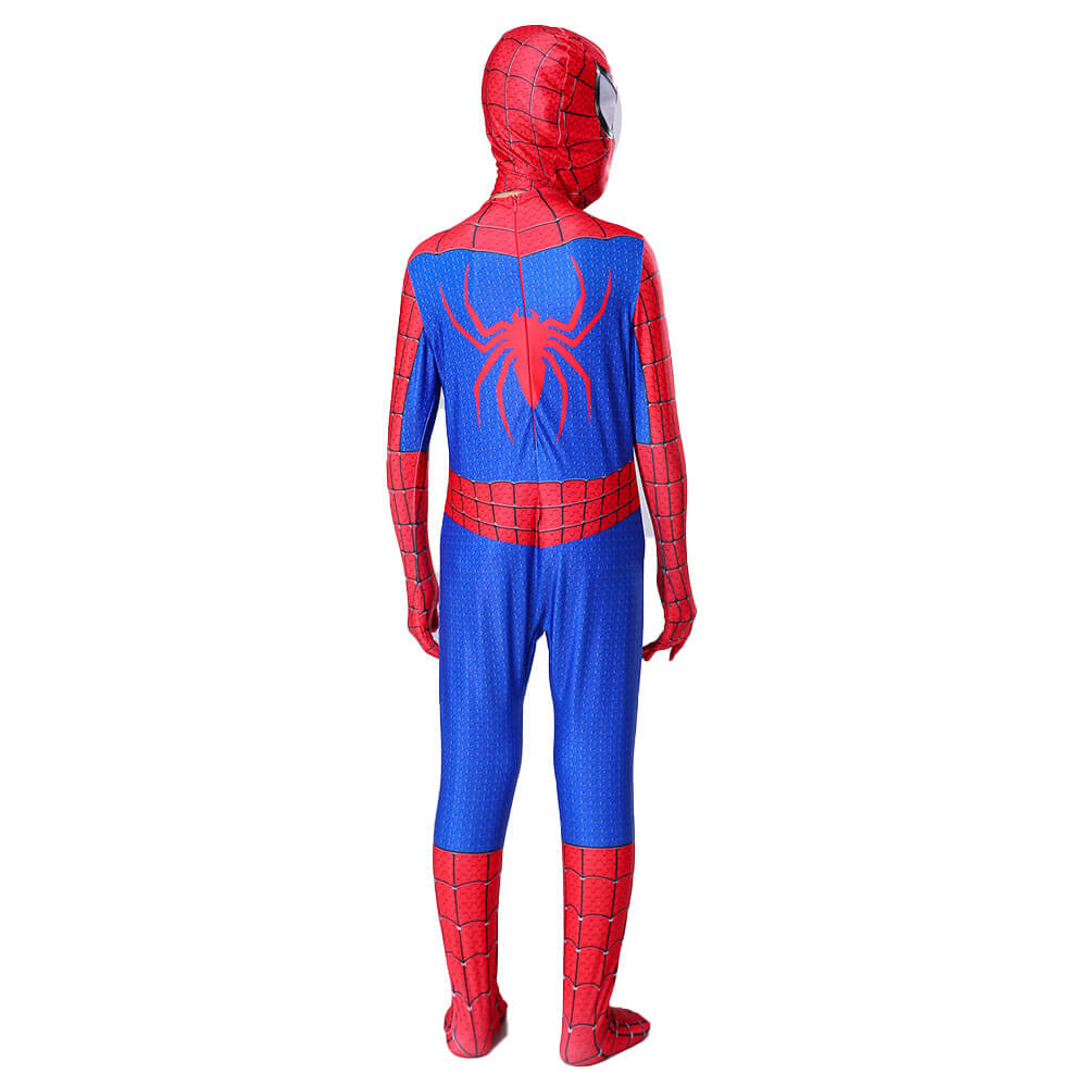 Black Spiderman 2 Costume The Amazing Spider-Man Kid and Adult Cosplay Suit New